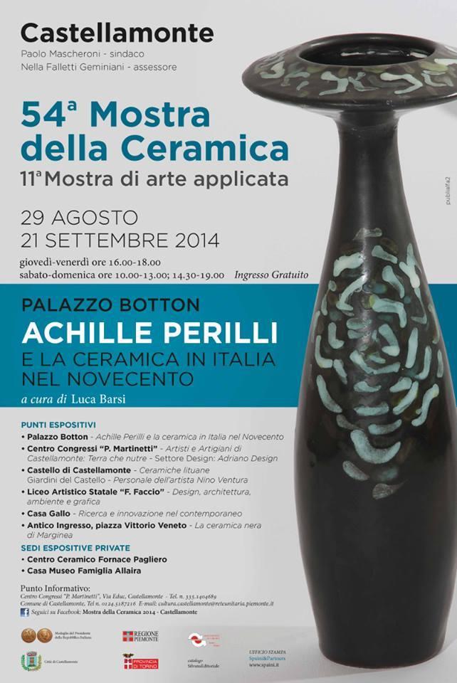 Mostra Della Ceramica Di Castellamonte.Citta Di Castellamonte 54 Mostra Della Ceramica Annamaria Aimone